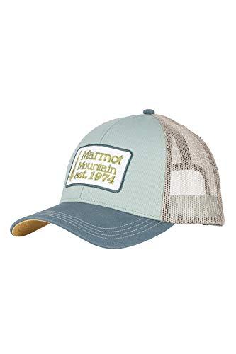(Marmot Men's Retro Trucker Hat, Moon River, One Size)
