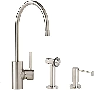 product image for Waterstone 3800-2-PC Kitchen Faucet C Spout - 2 Piece Suite Polished Copper
