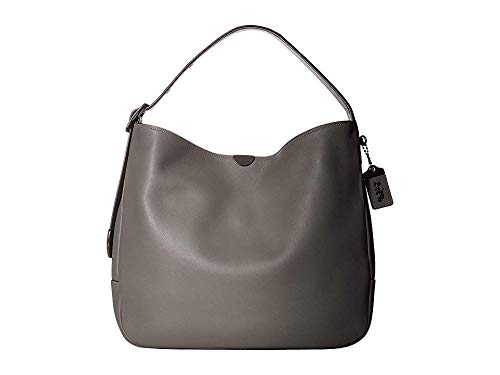 COACH Women's Soft Glovetanned Leather Bedford Hobo Bp/Heather Grey One Size ()