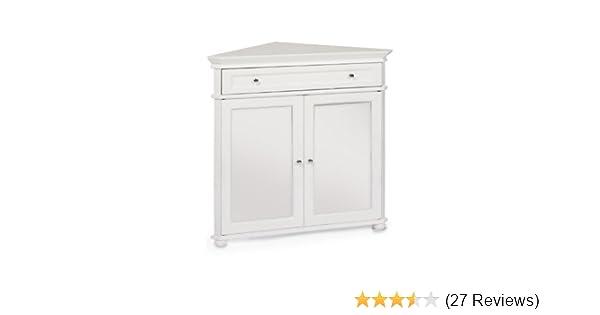 Amazon Hampton Bay 32w Corner Cabinet With Two Wood Doors