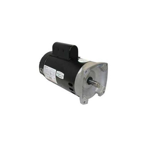 2 Square Speed Motor Flange - A.O.Smith B2982 1HP 230V 56Y Frame Square Flange 2-Speed Pool or Spa Motor