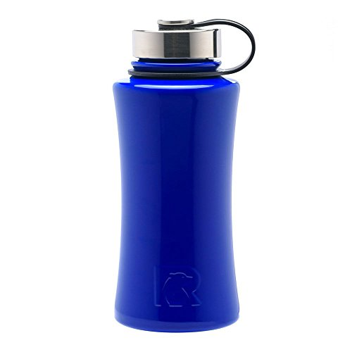 RTIC 491 Double Wall Vacuum Insulated Bottle, 32 oz, Royal