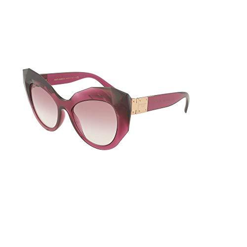 Sol Gafas De 0dg6122 Para 52 E Gabbana Transparente Cherry Mujer Dark Dolce qnRSXB