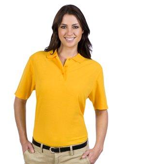 Ladies' 5.6 oz. Pique Knit Sport Shirts - By Fashion Destination