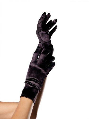 Stretch Satin Short Gloves