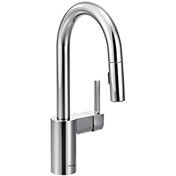 Moen 5965 Align One Handle High Arc Pulldown Bar Faucet