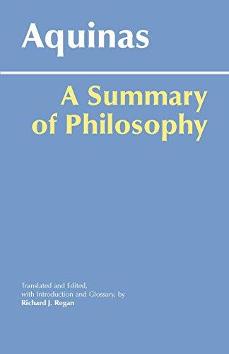 A Summary of Philosophy (Hackett Classics)