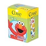 Medline Industries Inc Sesame Street Bandages Latex-Free 3 4amp;quot;X3amp;quot; 100 Box Wegn