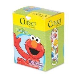 Medline Industries, Inc Sesame Street Bandages, Latex-Free, 3/4amp;quot;X3amp;quot, 100/Box, Wegn