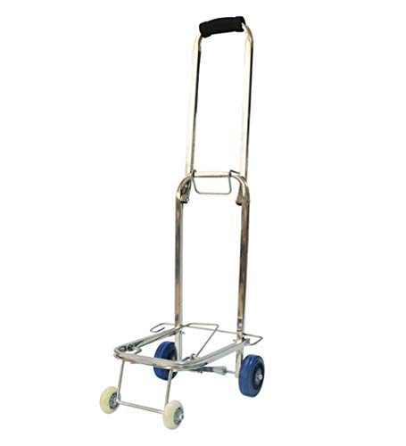 Wagons Hand Truck 4-Wheel Stainless Steel Portable for sale  Delivered anywhere in USA