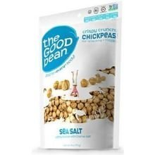 The Good Bean Sea Salt Chickpea Snack, 6 Ounce - 6 per case.