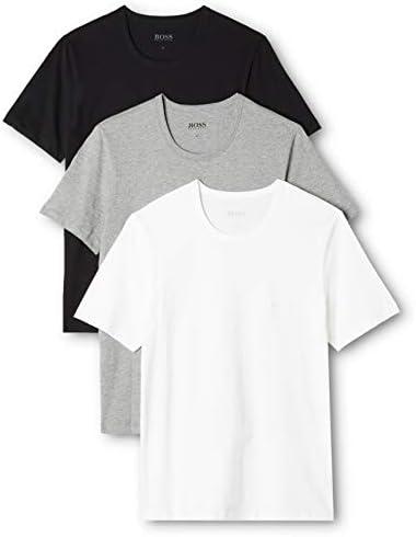 BOSS T- Shirt Col Rond Maglietta Regular Fit Uomo, Pacco da 3 Pezzi, Multicolore,