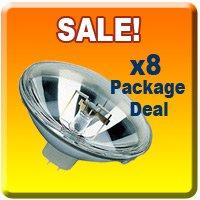 8x Stage DJ 300 PAR 56 MFL Light Bulb 300W PAR56 (Par 56 Light)