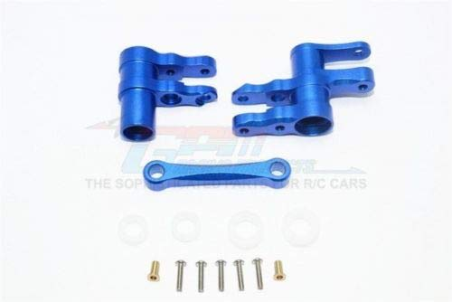 Part & Accessories GPM Racing 4-Tec 2.0 Blue Aluminum Steering Rack Assembly GT048-B - Gpm Steering Assembly