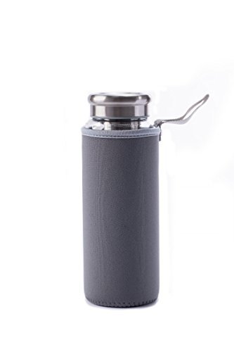 Cold Maker with for Iced Tea Brewing Glass Outdoor Travel Deep Stainless Airtight Bottle cup
