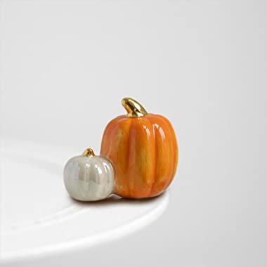 Nora Fleming - Pumpkin Pair Mini Interchangeable Plate Charm A2