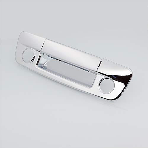 1500 Triple Handle - EAG Triple Chrome Plated ABS Tailgate Handle Cover With Keyhole & Camera Hole Fit for 09-16 Dodge Ram 1500/10-16 Dodge Ram 2500/3500