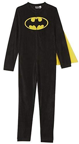 DC Comics Men's Big and Tall Batman Caped Costume Union Suit (3XLB) -