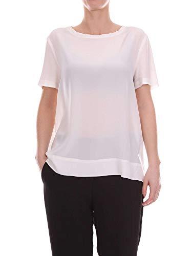 Blanco Malìparmi shirt T Mujer Jm42123004410001 Algodon BBqOxEwrF
