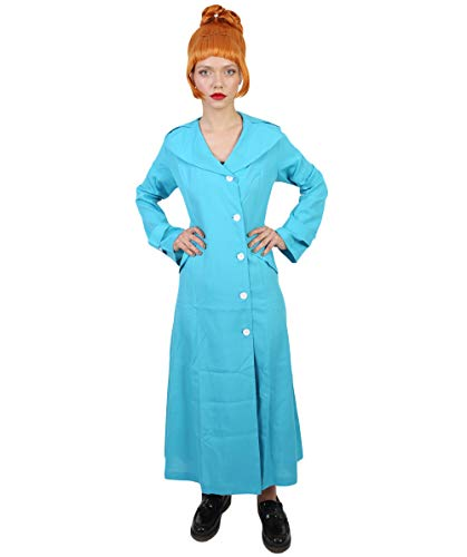 Women's Lucy Coat Costume, Blue X-Large -