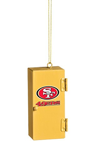 Team Sports America San Francisco 49ers Team Locker Ornament