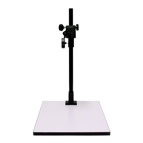 Albinar 23'' High Copy Macro Stand with 14''x16'' Base, Quick Release Mount and Bubble Level