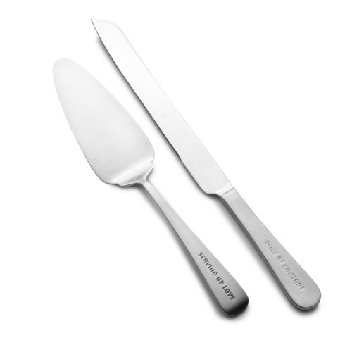 Towle Living 5126661 Express 2-Piece Dessert/Cake Server Set by Towle Living