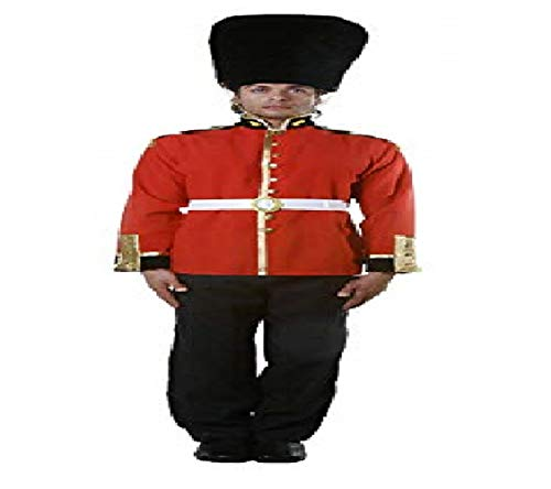 Dress Up America Adult Royal Guard, Multi-Colored,