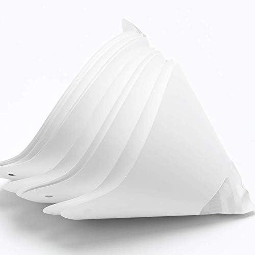 Filtre 10pcs Blanc Entonnoir Jetable R/ésine Accessoires /Épaisse Papier 3D Imprimante Photocuring Consommable
