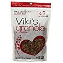 Vikis Original Honey Granola, 12 Ounce -- 6 per case.