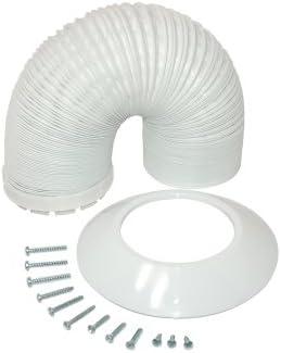 Genuine Indesit Tumble Dryer Vent Hose Adaptor White