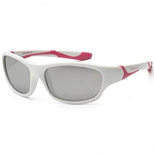Koolsun Sport Kids SunGlasses/UV Protection, White - 3-6 Years ()