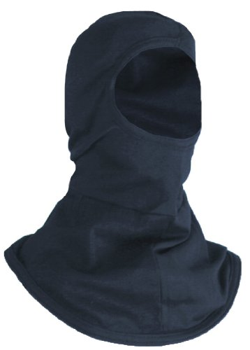 National Safety Apparel Flame Resistant (FR) Midweight Knit Hood, 12 Calorie Arc Rated (H11BA) Flame Hood