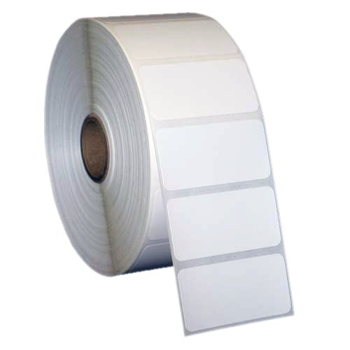 2x1 inch Direct Thermal Paper Labels - White - Rolls - 5