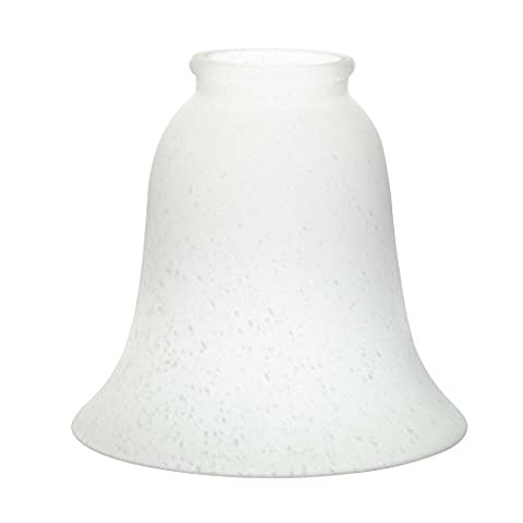 Kichler Lighting 340116 Decorative Glass Shade for 2- 1/4IN Fitter, Etched Seedy, Pack of Four - Etched Opal Glass Shade