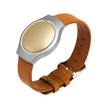 Misfit Leather Band Tan For Shine