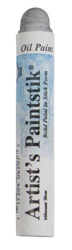 Jack Richeson Shiva Oil Paintstik, Iridescent Silver (Shiva Iridescent Paint Stick)