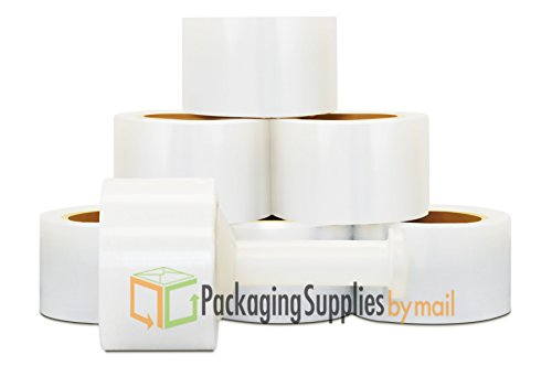 Cast Bundling Stretch Wrap Film 3 Inch x 80 Gauge x 1000 Feet 18 Rolls Per Case