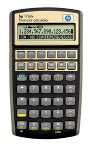 HP 17BII+ F2234AA Financial Calculator 17BIIPL