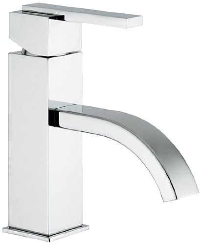 Jewel Faucets 15360  Chrome Single Lever Handle Lavatory Faucet with Classic Ribbon Spout from Jewel Faucets