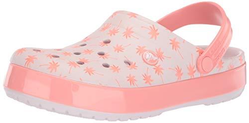 Crocs Crocbndsgclg Clog, Barely Pink/Melon, 11 US Women / 9 US Men