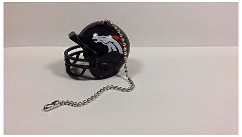 NEW NFL Ceiling Fan Helmet Pull Chain Lamp Pull Chain (Denver Broncos)