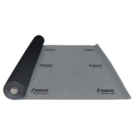 Technofloor Acoustic Underlayment - Provides Superior Soundproofing 300 Sq.Ft.