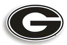Bulldogs Georgia 12' Car Bulldog (Georgia Bulldogs 12'' ''G'' Car Magnet)