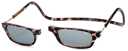 Clic Magnetic Reading Sunglasses in Tortoise - Sun Sunglasses The In