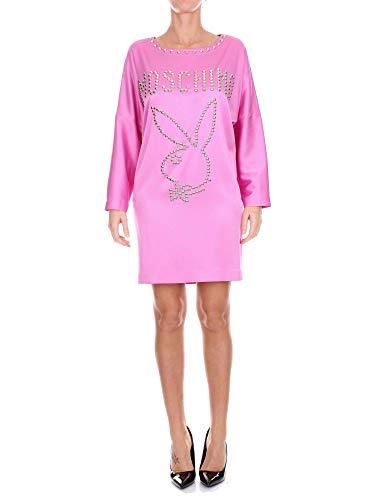 A043005348208 Donna Vestito Moschino Rosa Cotone SUMpzV