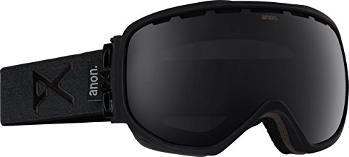 Anon Herren Snowboardbrille Insurgent, smoke/dark smoke, One Size, 10771102022