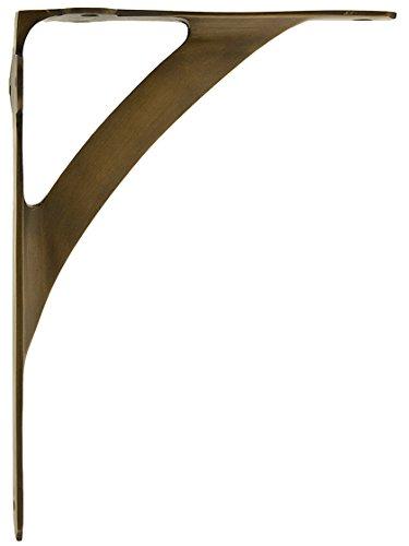 House of Antique Hardware R-010SE-0700037 Solid Brass Shelf Bracket - 7 11/16