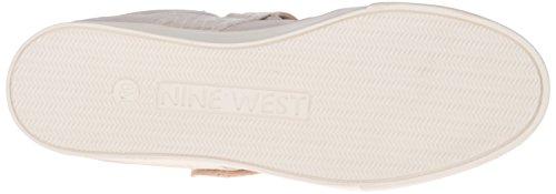 Nine West Mujeres Buhbye Suede Calzado Zapato Serpiente De Agua Blanca