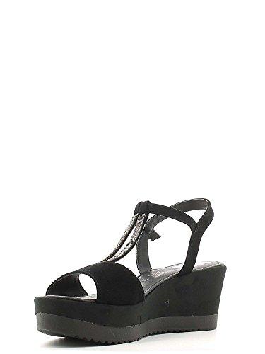 Grace Shoes 51514 Sandalias Altos Mujeres Negro
